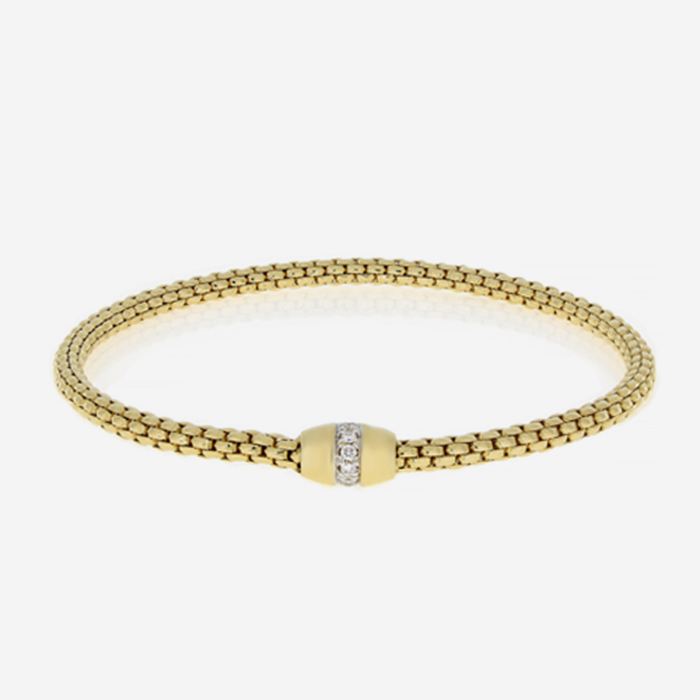 Diamond Bracelets Hulchi Belluni gold bracelet Yellow Diamond
