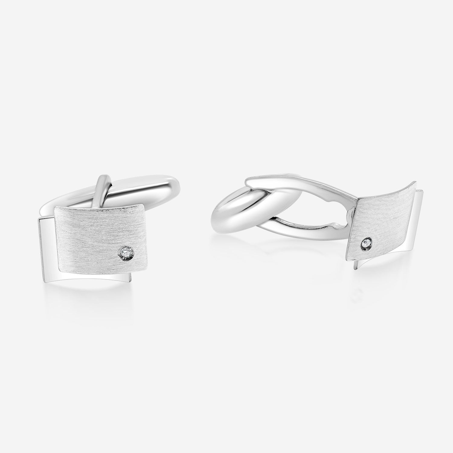 Cufflinks Cufflinks White Diamonds