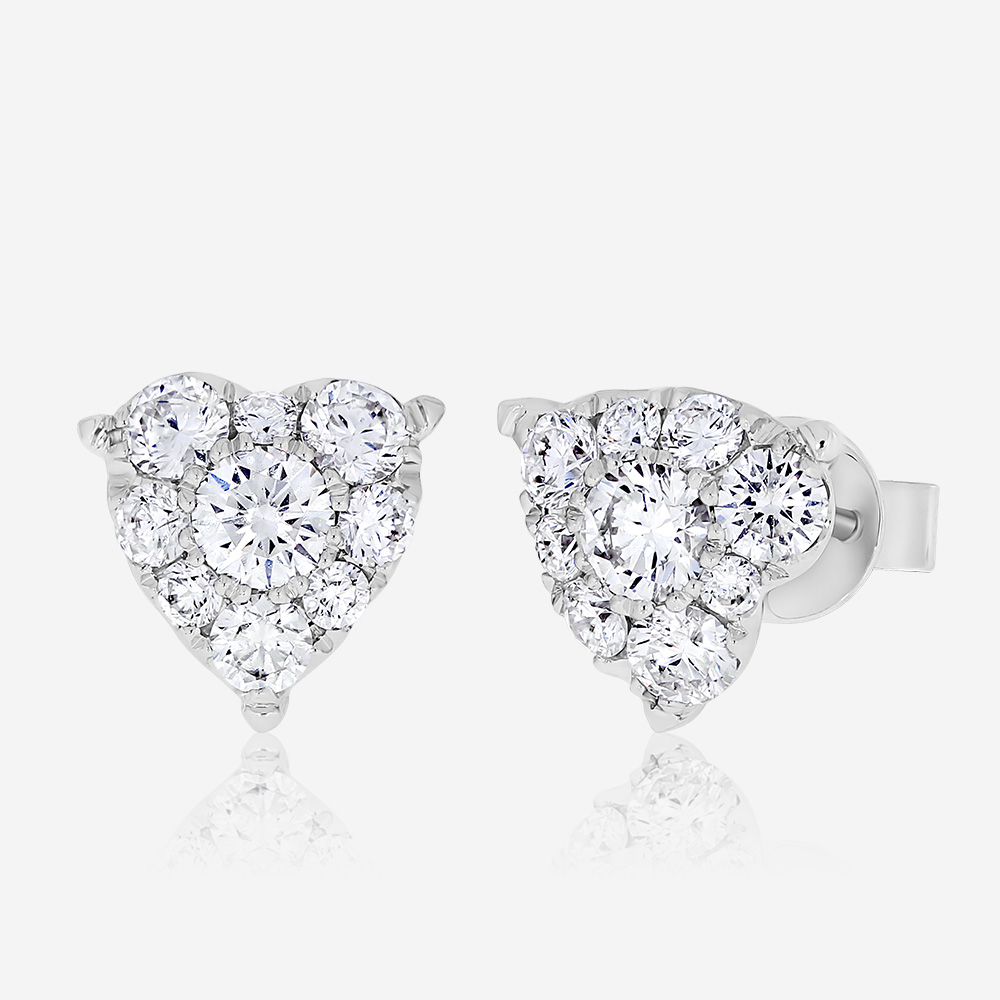 Diamond Earrings Diamond earrings White Diamond