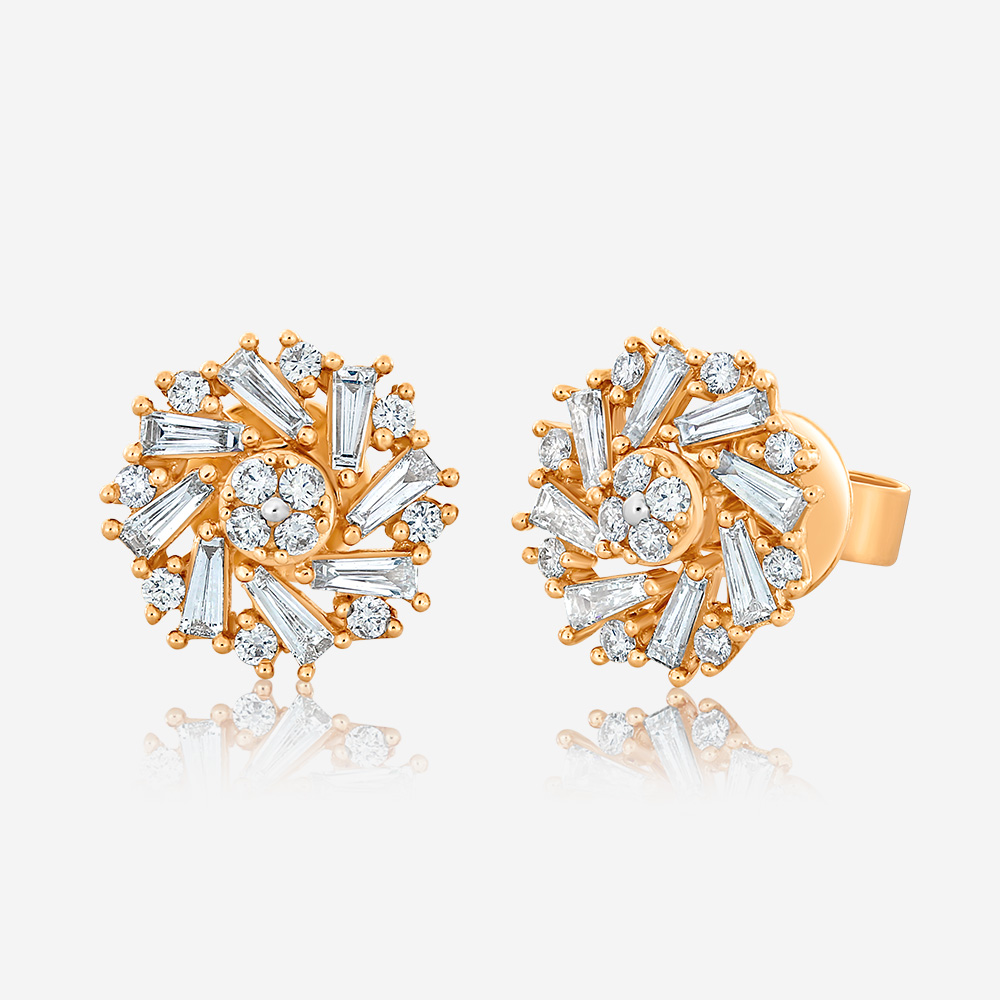 Diamond Earrings Diamond earrings Rose Diamond