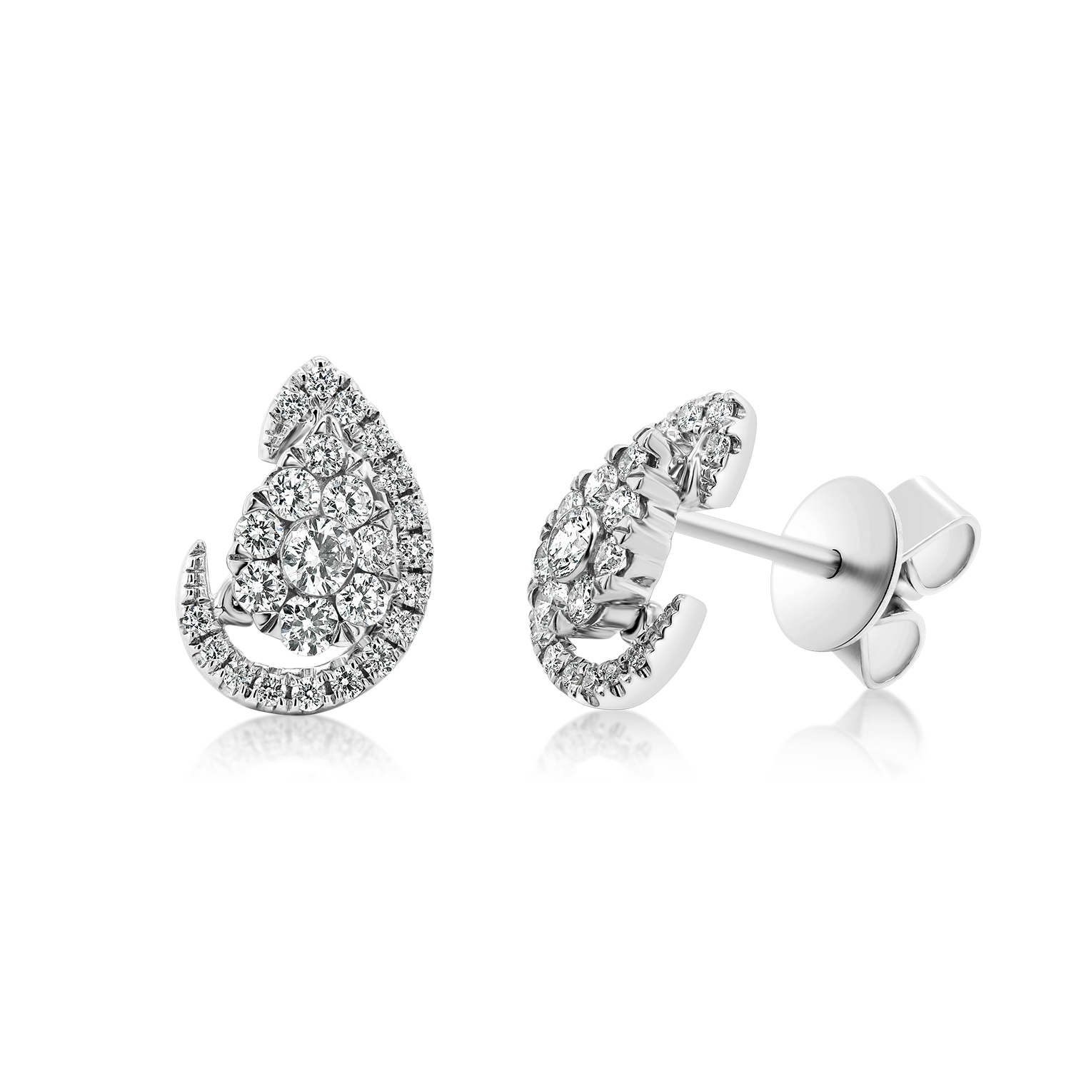 Diamond Earrings Diamond earrings White