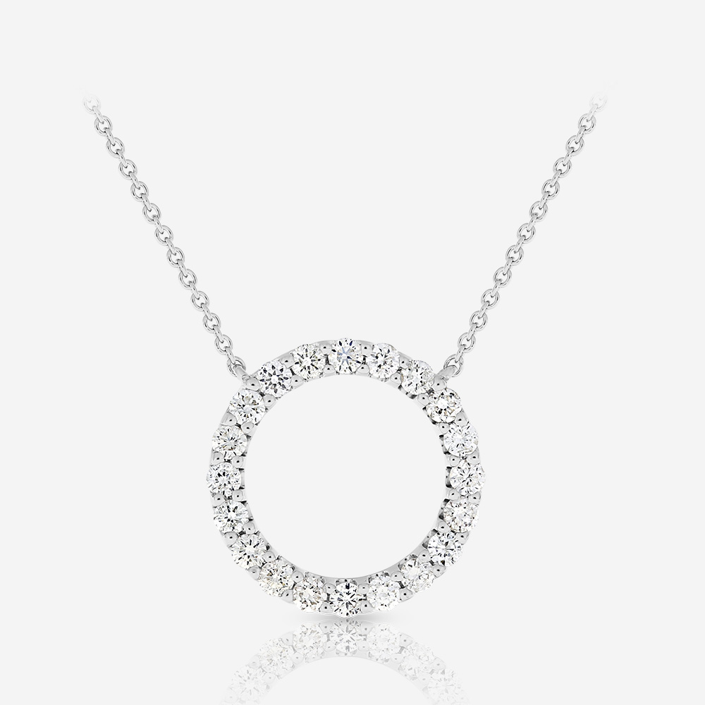Diamond Necklaces Diamond necklace White Diamond
