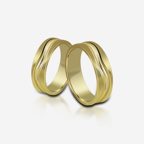 Wedding rings Atractivo 524 Yellow