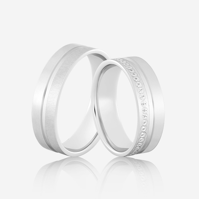 Wedding rings Onesta 407 White
