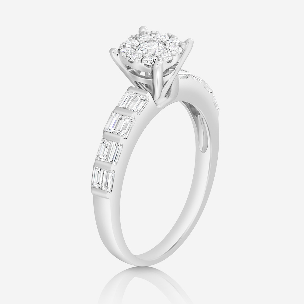 Engagement rings Diamond ring White Diamond