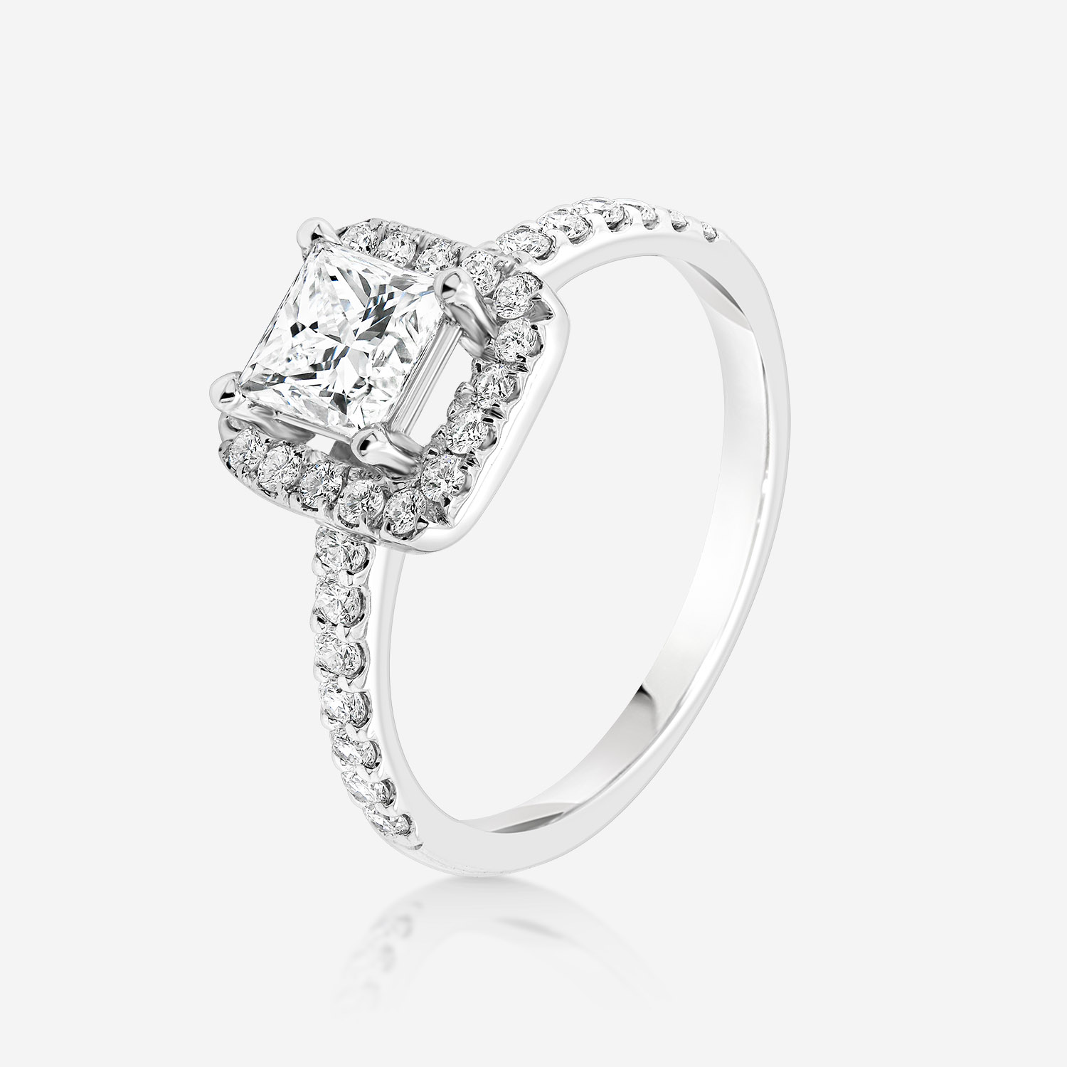 Engagement rings Diamond ring White Diamonds