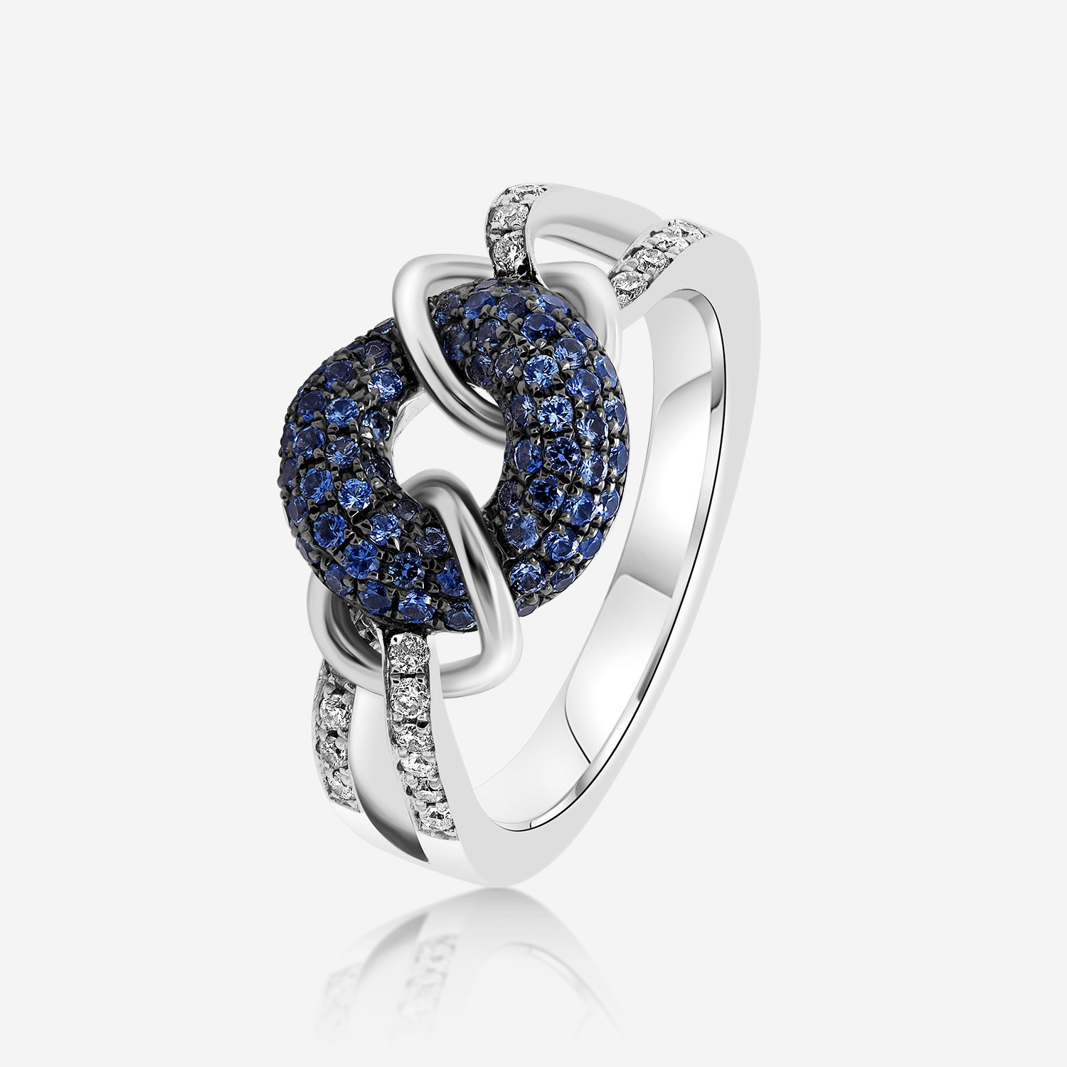Diamond Rings Diamond ring White Diamond <br/>Sapphire