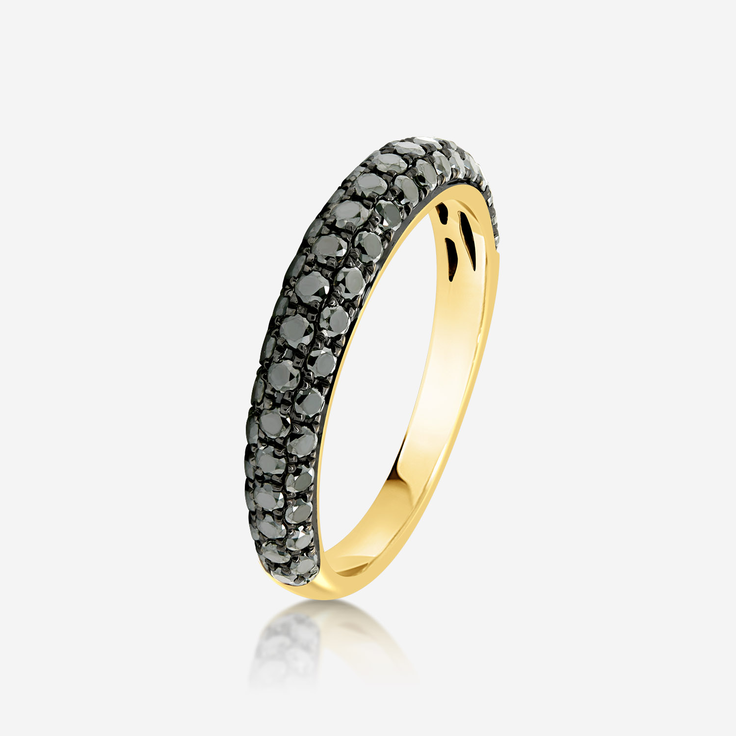 Diamond Rings Diamond ring Yellow Black Diamond